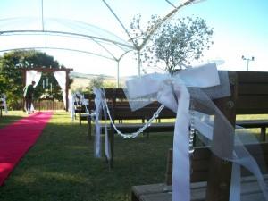 cerimonial foi organizado pela Bé e equipe (Maria Isabel Cirne Lima