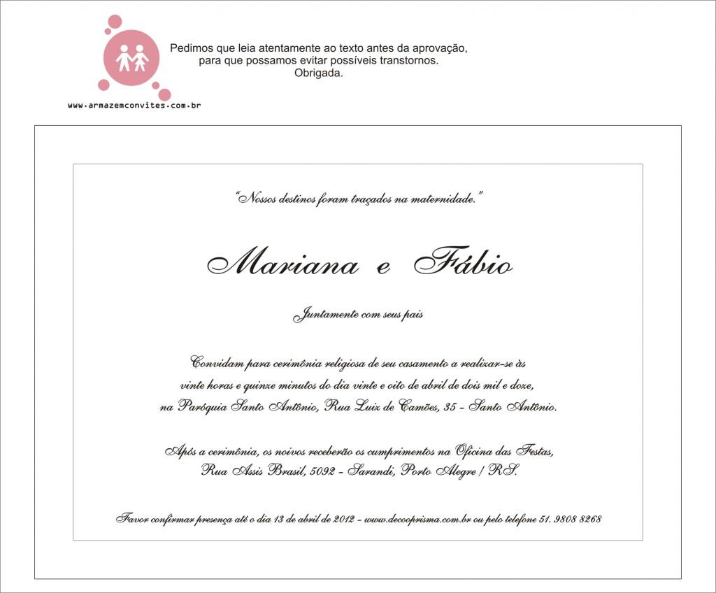 convite mariana e fábio